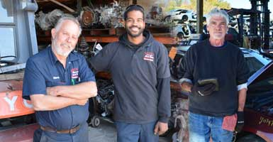 Bruce Auto Parts Support Staff Productions